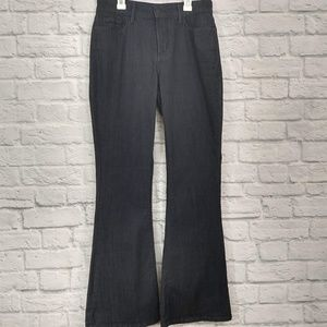 NYDJ | Super Dark Wash Flare Jeans